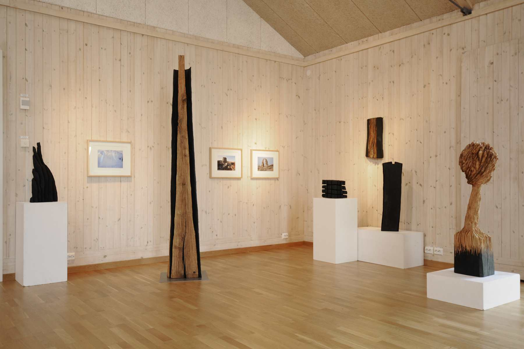 ORUST, Sweden, 2008. Exhibition by Karl Chilcott.