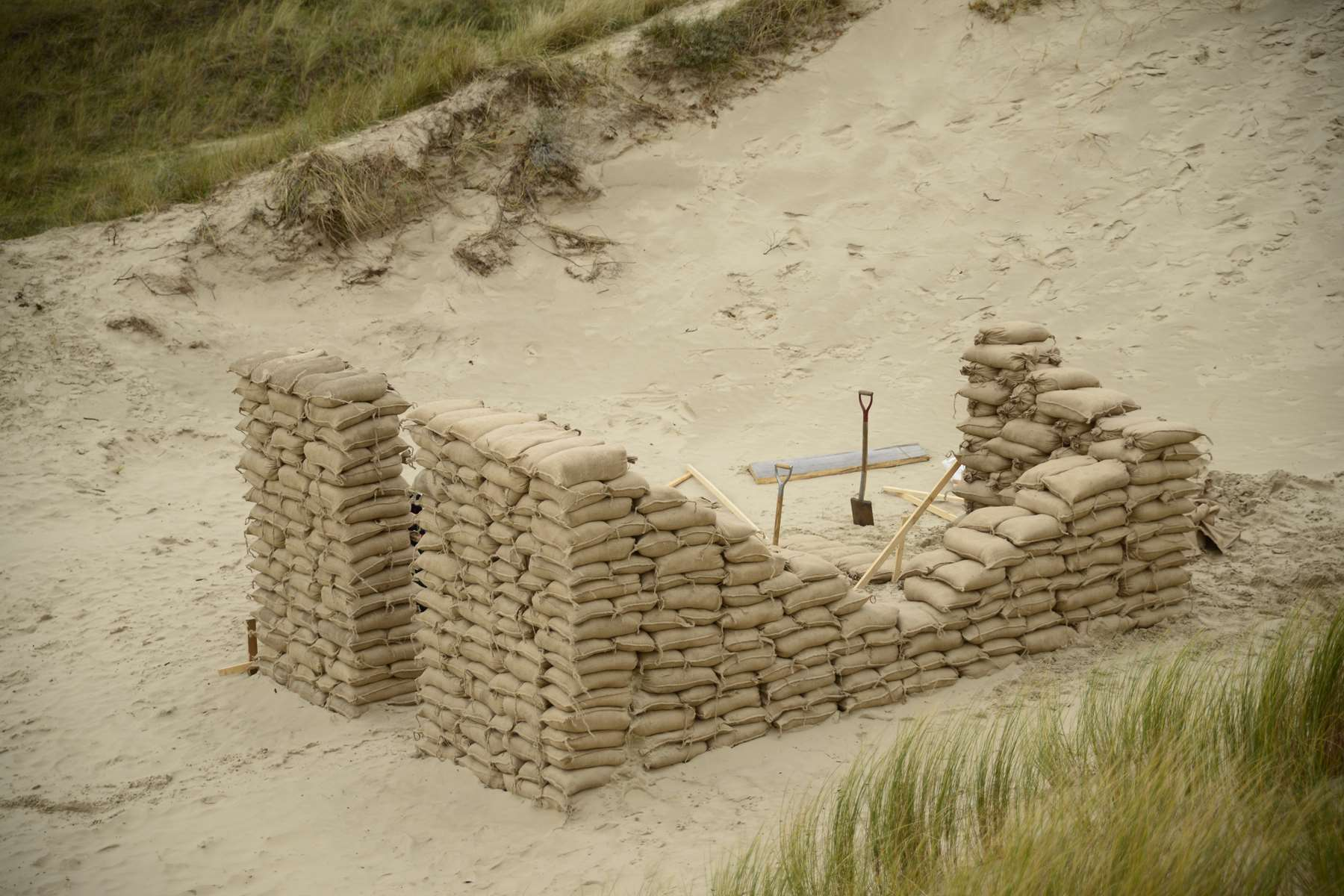 THE HOUSE IN THE DUNES, The Netherlands, 2013. Installation by Karl Chilcott.