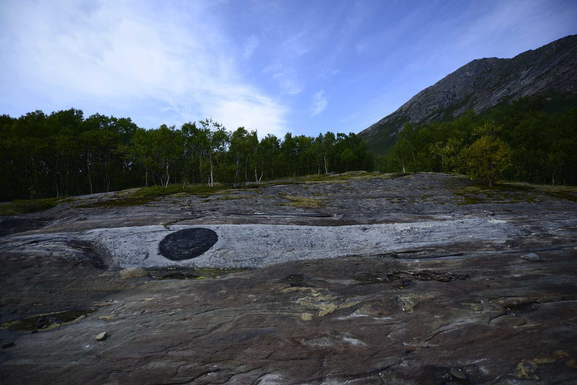 SEJTAR, Kjerringøy Land Art Biennal, Norway, 2019. Installation by Karl Chilcott.